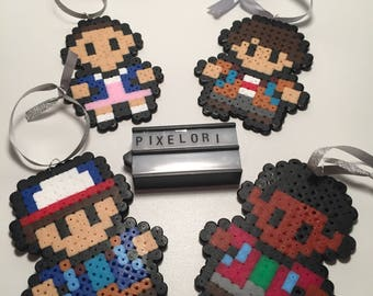 Stranger Things Hanging Decorations Christmas Hama Beads