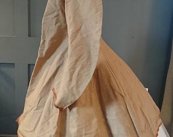 Elegant 1860s Silk ? Crinoline Summer Jacket - Victorian Antique Fashion
