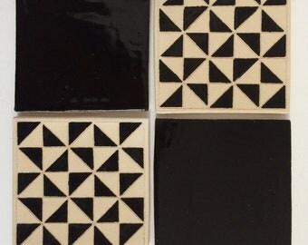 Geometric Coaster Set