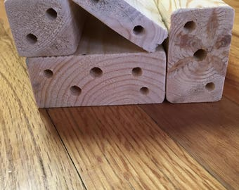 Spriggly's Native Bee Cabin Replacement Blocks