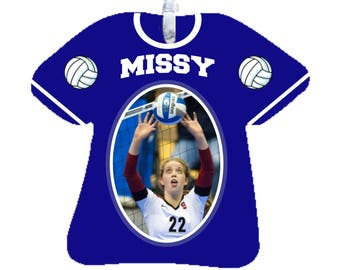 Photo Ornament Sports Jersey