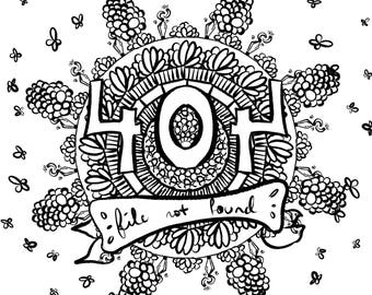 Technology - Adult Coloring Set