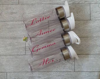 Love Island Inspired water Bottle with Name - Personalised Water Bottle