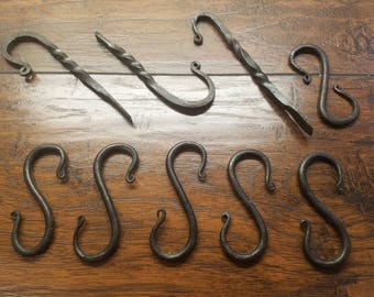 Hand Forged S-Hook