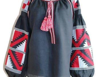 Vishivanka Ukrainian Clothing Vyshyvanka Woman Boho Blouse Custom Embroidery Embroidered Clothes Ethnic Style Bohemian Cloth Mexican