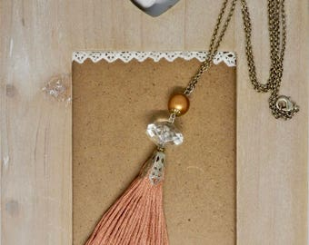 Necklace with tassel Pendant