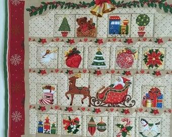 Quilted Advent Calendar and Ornaments PDF Pattern : advent calendar quilt - Adamdwight.com