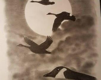 Goose's Moon