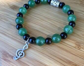 Good Jam Gemstone Bracelet with Charm