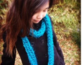 Oversized Scarf, Scarf Oversized, Scarf, Knitted Scarf, Scarf Knitted, Winter Scarf For Her, Chunky Knit Scarf,  Hand Knit Infinity Scarf