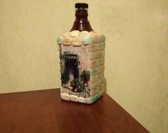 Magnificent bottle Country house vase decor for home gift