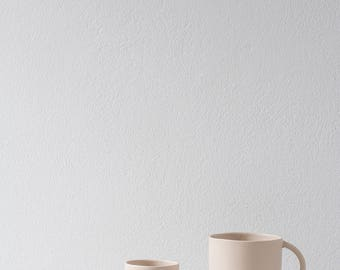 Gradient Mug S Almond (set of 2)