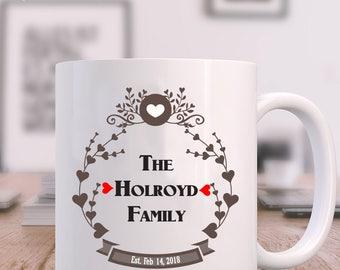 Family Name Mug
