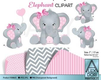 Elephant clip | Etsy