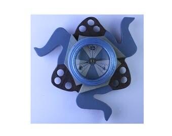 Fidget Clock - blue