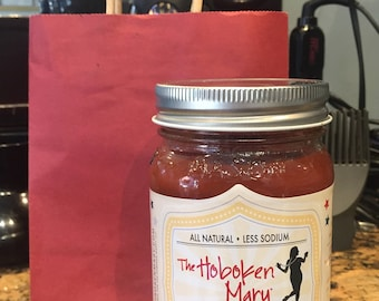 16 oz - The Hoboken Mary Bloody Mary Mix - All Natural, Less Sodium, Gluten-Free