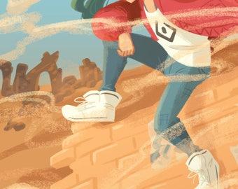 "Vocaloid: Sand Planet 8.5""x 11"" Poster"