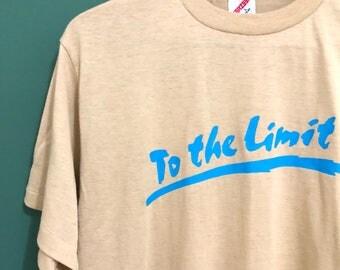 Vintage To The Limit T-Shirt / Retro Beige T Shirt