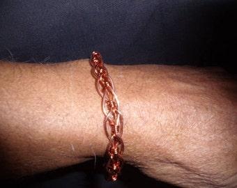 Copper unisex bracelet