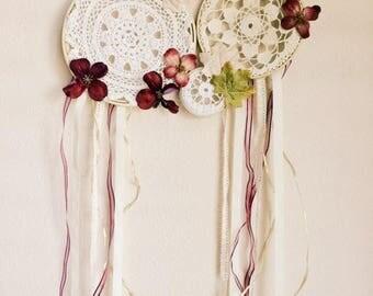 Floral Dreamcatcher