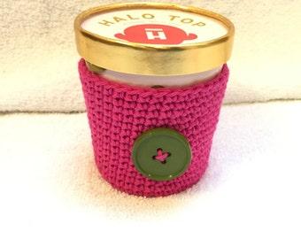 Bright Pink Ice Cream Cozy