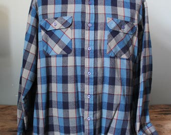 Vintage Arrow Flannel Shirt | Size XL