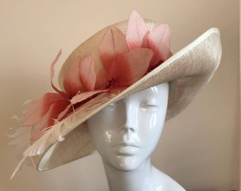 Hat Couture Wedding/Races/Mother of the Bride Designer Hat