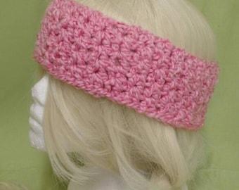 Super soft handmade crochet head wrap