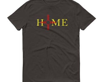 New Mexico is Home Zia T-Shirt/Zia Symbol