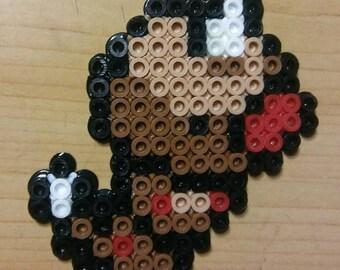 Weedle Perler Bead Magnet