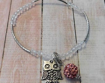 Child dainty Owl bracelet