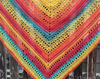 Sweet Rainbow Dash Shawl