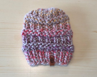 chunky sprinkles knit hat (childrens)