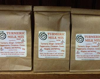 Turmeric Milk Mix - Golden Milk - Turmeric Tea Blend - Hot Drink Mix -