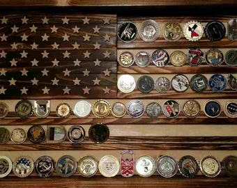 Challenge Coin Flag