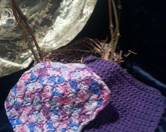 Dishcloth, set of 2, crochet