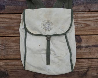 """Vintage """"Frontier Camping Equipment"""" Backpack"""