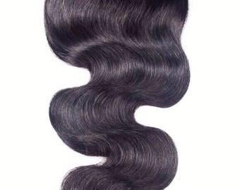 Brazilian Virgin Hair Body Wave Lace Closure