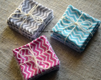 Set of 5 wipes