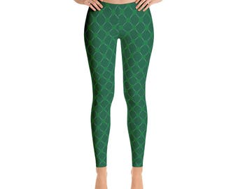 St.Patrick's Day,Leggings, Women's Printed pants, Printful, USA
