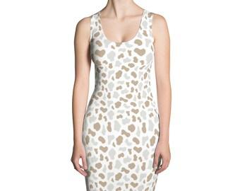 Animal skin,Sublimation Cut & Sew Dress-USA, printful
