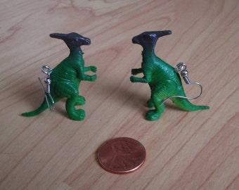 Parasaurolophus Earring