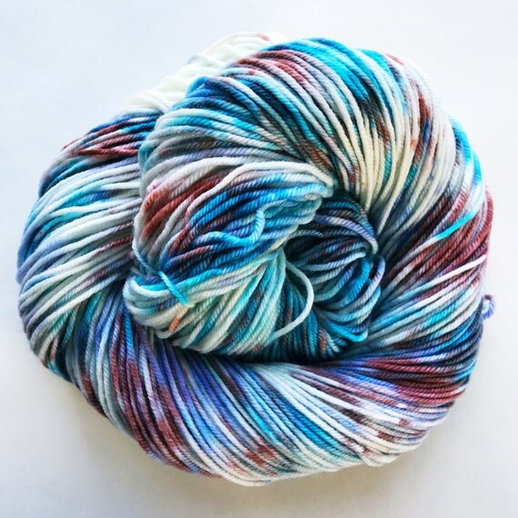 ASTER hand dyed speckle yarn - limited edition