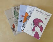 Chronic Pain Zine Pack - When Language Runs Dry issues 1, 2, 3, 4 and 5