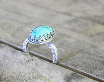 Timberline Turquoise Ring / Modern Jewelry