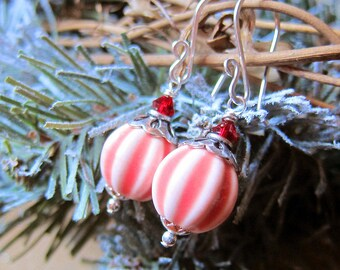 Sihaya Designs Ornaments - Vintage Peppermints in Sterling Silver