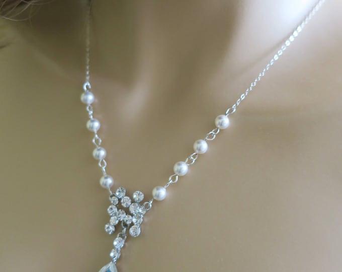 Bridal Y Necklace