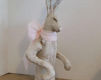Rabbit Art Doll