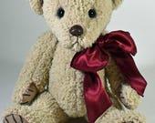 Sally - Artist Teddy Bear, On Sale, Handmade Teddy Bear, Plushie, Stuffed Animal, 11 Inch