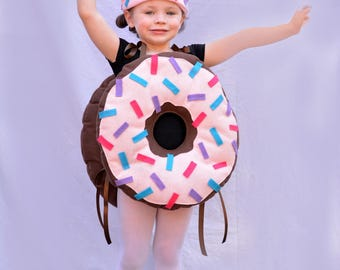 Adult Costume Doughnut Costume Mens Costume Womens Costume Teen Costume Halloween Costume Kids Costume Toddler Baby Halloween Dunkin Donuts